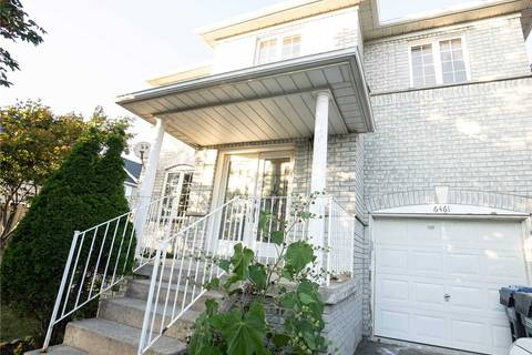 House for rent at 6461 Cruz Ave Mississauga Ontario - MLS: W4579998