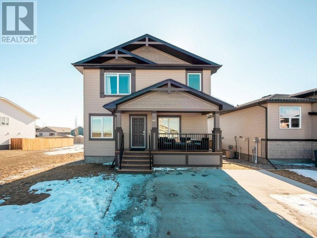 House for sale at 647 Parkside Green Coaldale Alberta - MLS: ld0189162