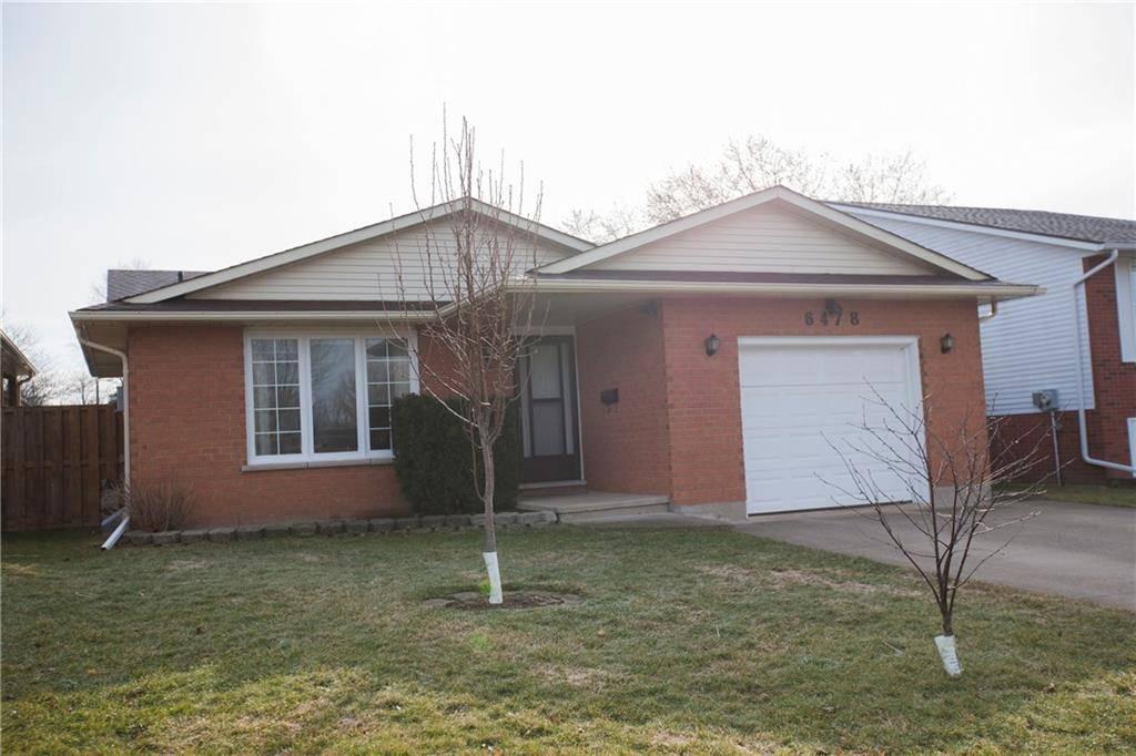 House for sale at 6478 Dalena Pl Niagara Falls Ontario - MLS: 30795029