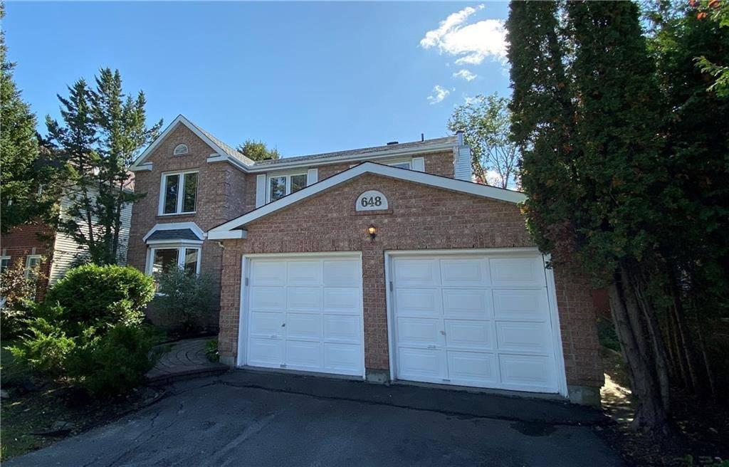 House for sale at 648 Merkley Dr Ottawa Ontario - MLS: 1171253