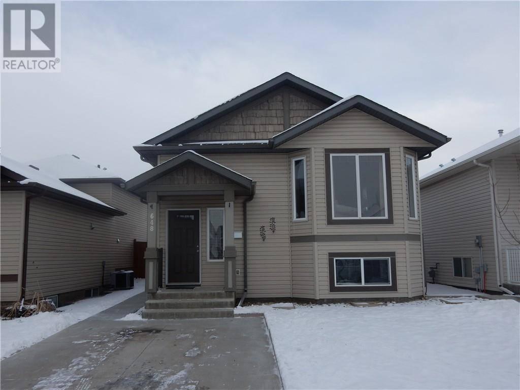House for sale at 648 Parkside Dr Coaldale Alberta - MLS: ld0186270