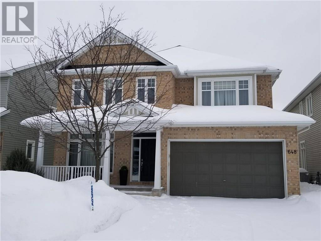 House for sale at 648 Woodbriar Wy Ottawa Ontario - MLS: 1182317