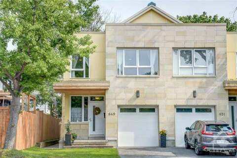 House for sale at 649 Churchill Ave Ottawa Ontario - MLS: 1205887