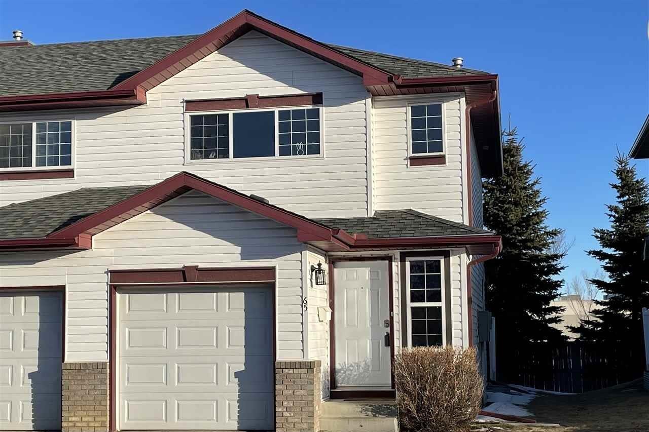 Townhouse for sale at 16823 84 St NW Unit 65 Edmonton Alberta - MLS: E4225332
