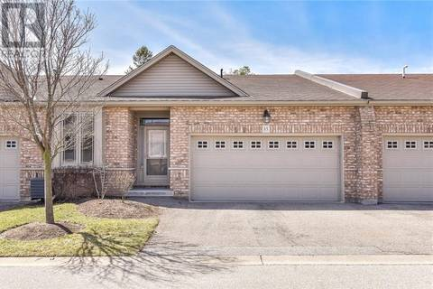 Townhouse for sale at 20 Isherwood Ave Unit 65 Cambridge Ontario - MLS: 30727992