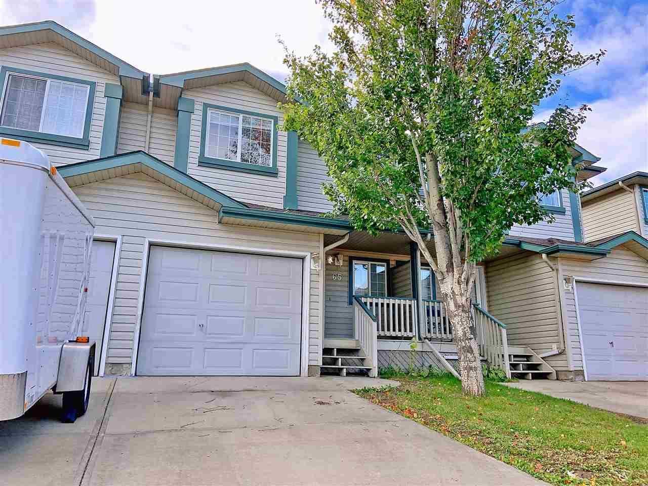 Townhouse for sale at 2004 Grantham Ct Nw Unit 65 Edmonton Alberta - MLS: E4176213