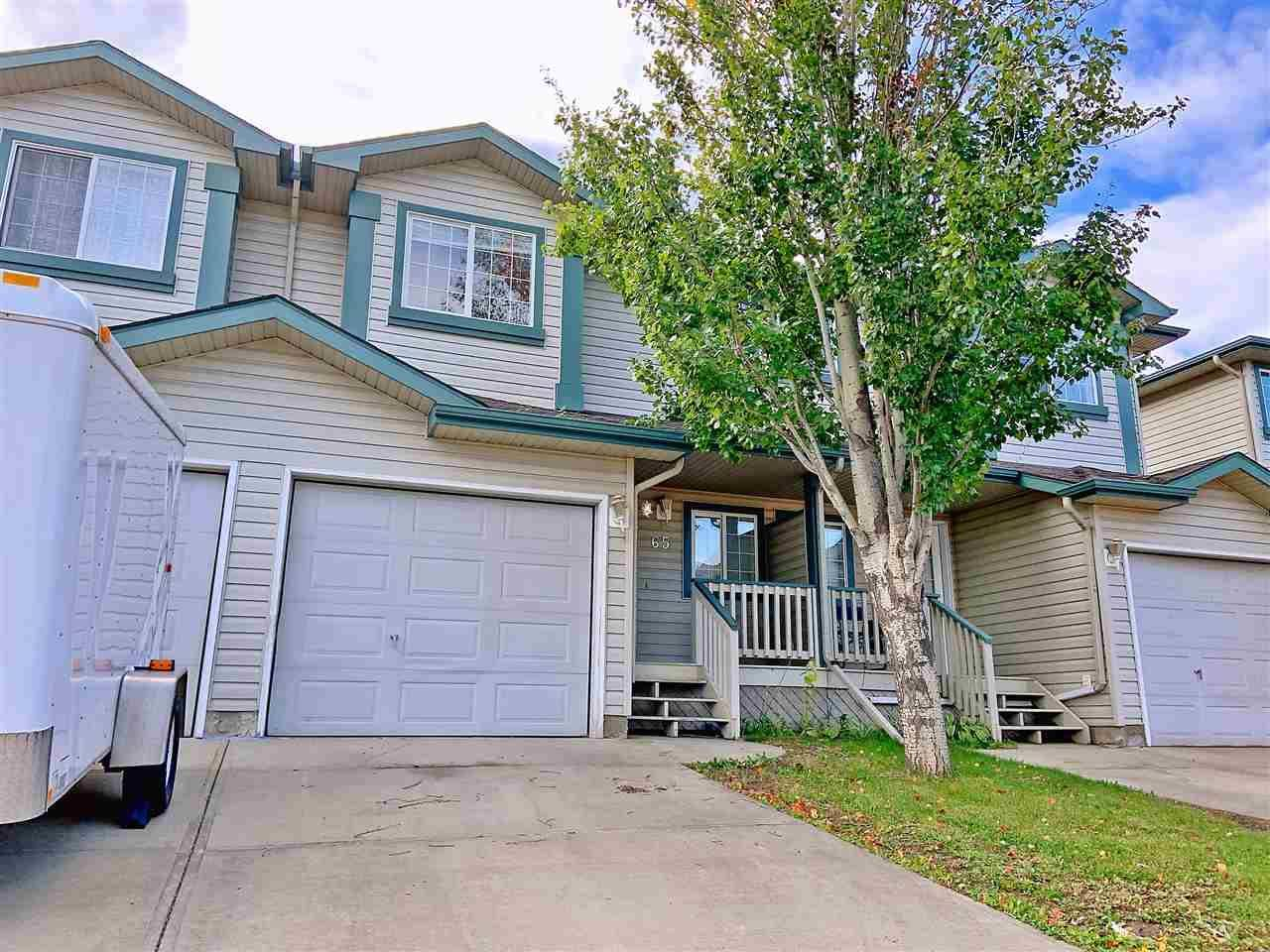 Townhouse for sale at 2004 Grantham Ct Nw Unit 65 Edmonton Alberta - MLS: E4176213
