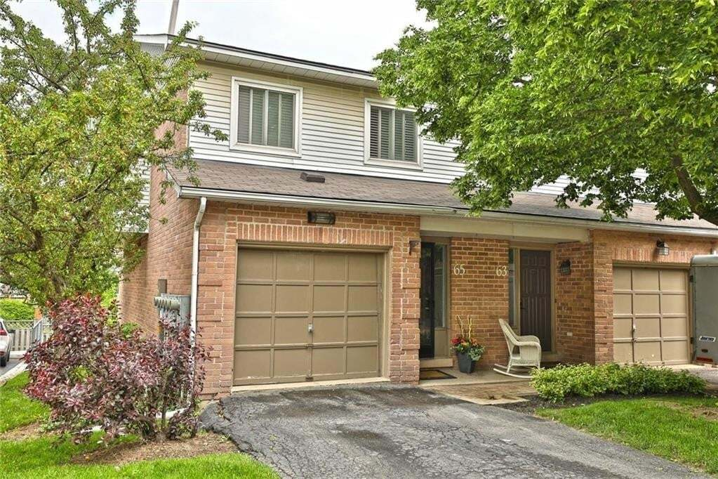 Townhouse for sale at 26 Moss Blvd Unit 65 Dundas Ontario - MLS: H4079242