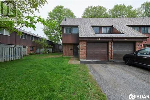 Townhouse for sale at 441 Barrie Rd Unit 65 Orillia Ontario - MLS: 30739045