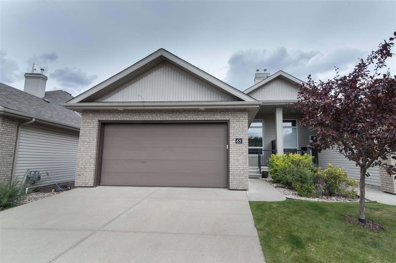 Townhouse for sale at 700 Regency Dr Unit 65 Sherwood Park Alberta - MLS: E4213880