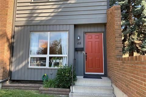 Townhouse for sale at 9908 Bonaventure Dr Southeast Unit 65 Calgary Alberta - MLS: C4261768