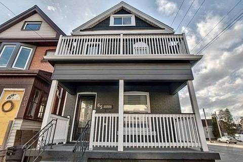 House for sale at 65 Arthur Ave Hamilton Ontario - MLS: X4415676