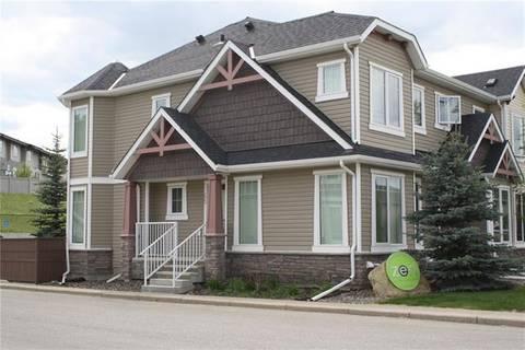 Townhouse for sale at 65 Aspen Hills Dr Southwest Calgary Alberta - MLS: C4247912