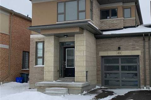 Property for rent at 65 Barrister Ave Whitby Ontario - MLS: E4689855