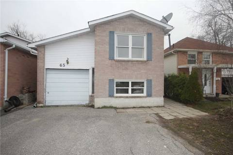 House for sale at 65 Broadlands Cres Clarington Ontario - MLS: E4423641