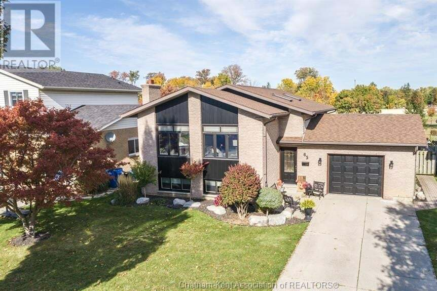 House for sale at 65 Bruinsma Ave Chatham Ontario - MLS: 20013290