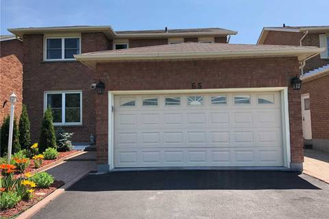 House for sale at 65 Cairns Dr Markham Ontario - MLS: N4506819