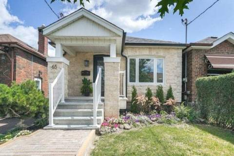 House for sale at 65 Chamberlain Ave Toronto Ontario - MLS: W4547819