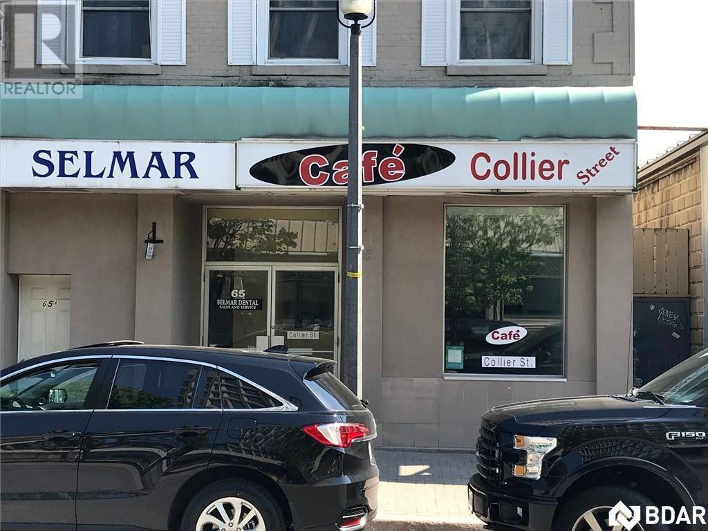 Commercial property for lease at 65 Collier St Barrie Ontario - MLS: 30775871