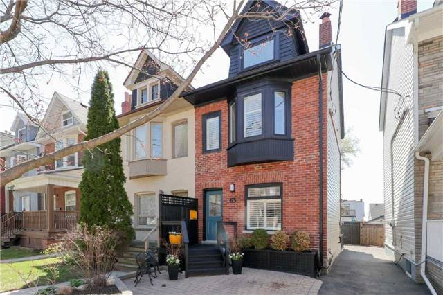 For Sale: 65 Dingwall Avenue, Toronto, ON | 4 Bed, 3 Bath Townhouse for $999,000. See 20 photos!