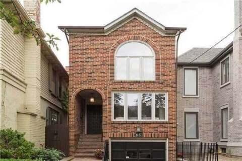 House for rent at 65 Duggan Ave Toronto Ontario - MLS: C4767137