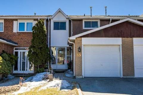 Townhouse for sale at 65 Durie Ln Markham Ontario - MLS: N4415238