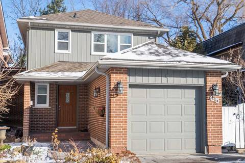 Home for sale at 65 Harnworth Dr Toronto Ontario - MLS: C4666499