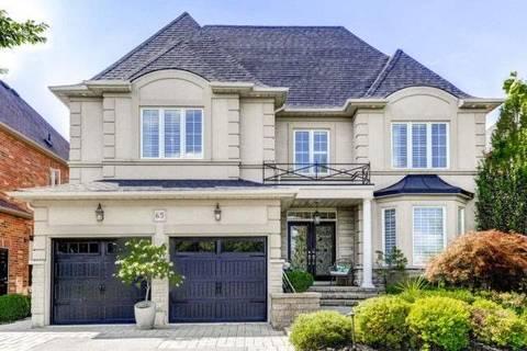 House for sale at 65 Louvain Dr Brampton Ontario - MLS: W4703510