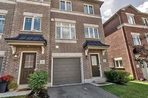 Townhouse for sale at 65 Markham Tr Clarington Ontario - MLS: E4875022