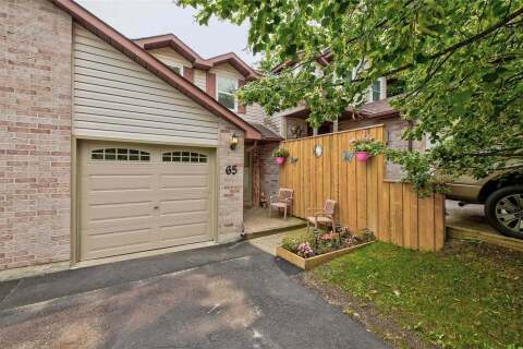 Townhouse for sale at 65 Melinda Cres Barrie Ontario - MLS: S4916816