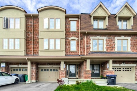Townhouse for sale at 65 New Pines Tr Brampton Ontario - MLS: W4768804