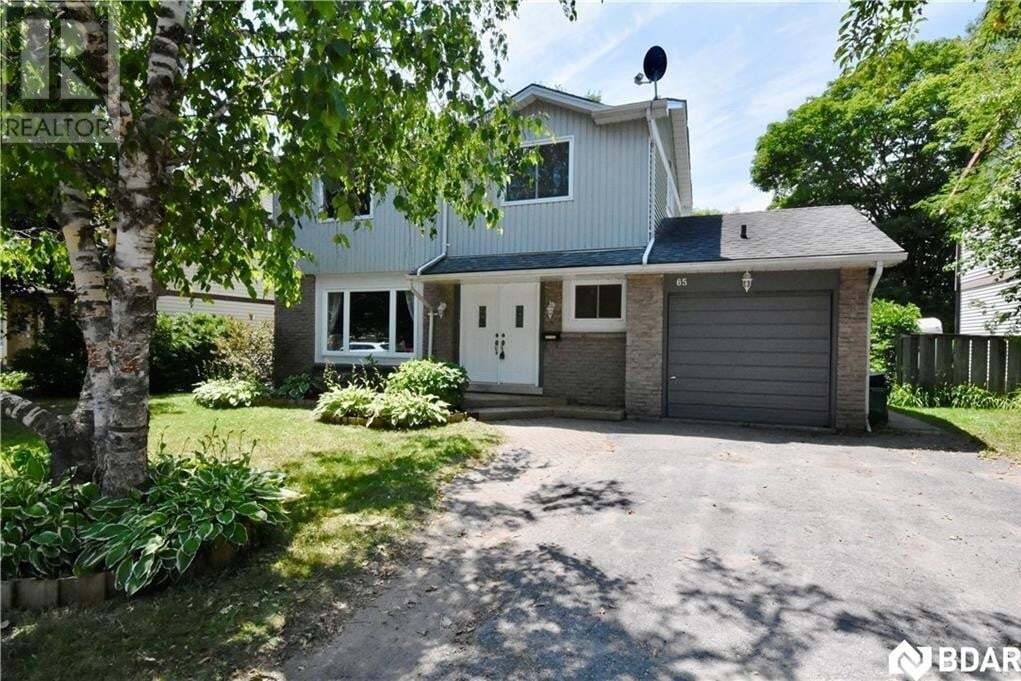 House for sale at 65 Oren Blvd Barrie Ontario - MLS: 30820749