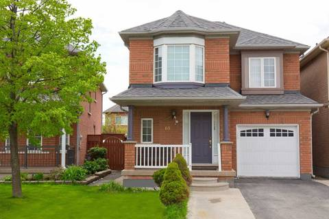 House for sale at 65 Peachleaf Cres Brampton Ontario - MLS: W4512391