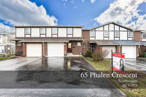 Townhouse for sale at 65 Phalen Cres Toronto Ontario - MLS: E5024779