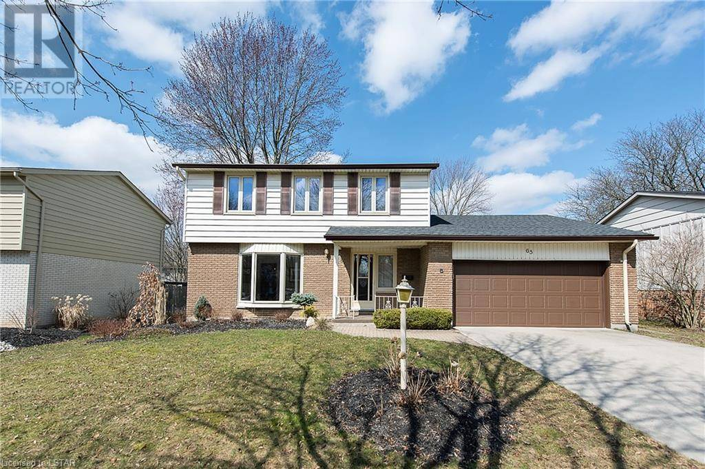 House for sale at 65 Queen Anne Circ London Ontario - MLS: 252900
