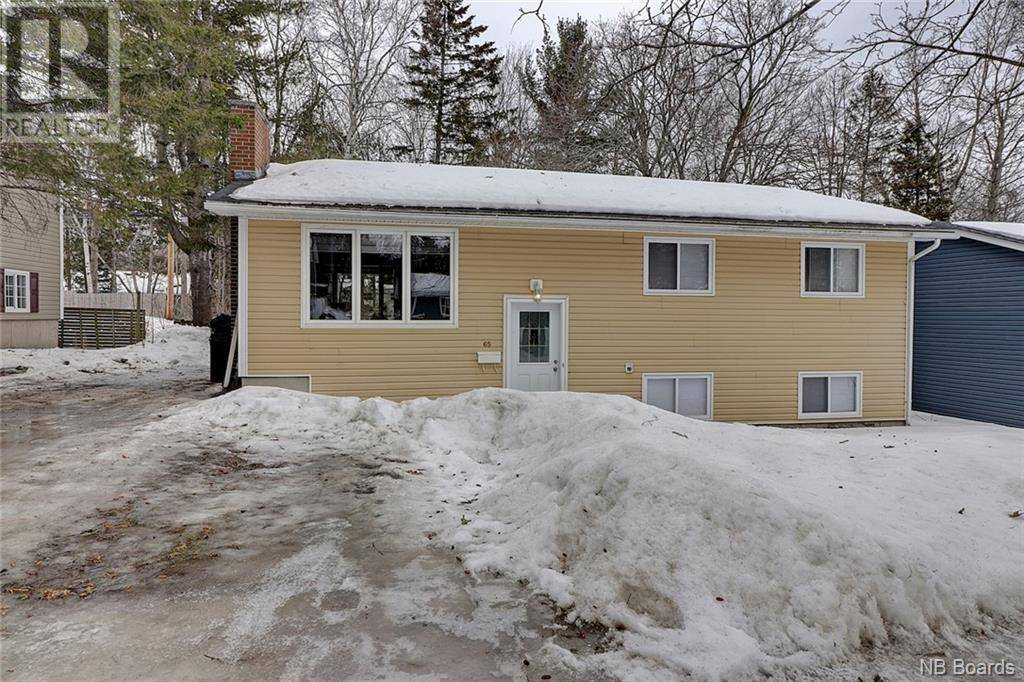 House for sale at 65 Rankine St Fredericton New Brunswick - MLS: NB042172