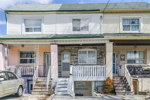 Townhouse for sale at 65 Silverthorn Ave Toronto Ontario - MLS: W4437265