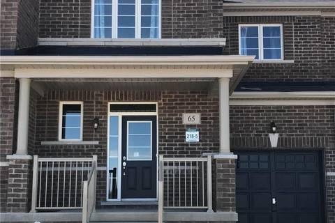 Townhouse for rent at 65 Skinner Rd Waterdown Ontario - MLS: 30735131