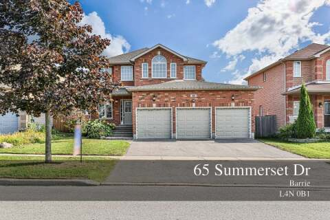 House for sale at 65 Summerset Dr Barrie Ontario - MLS: S4930085