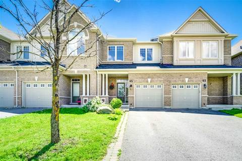Townhouse for sale at 65 Thatcher Cres Newmarket Ontario - MLS: N4495959