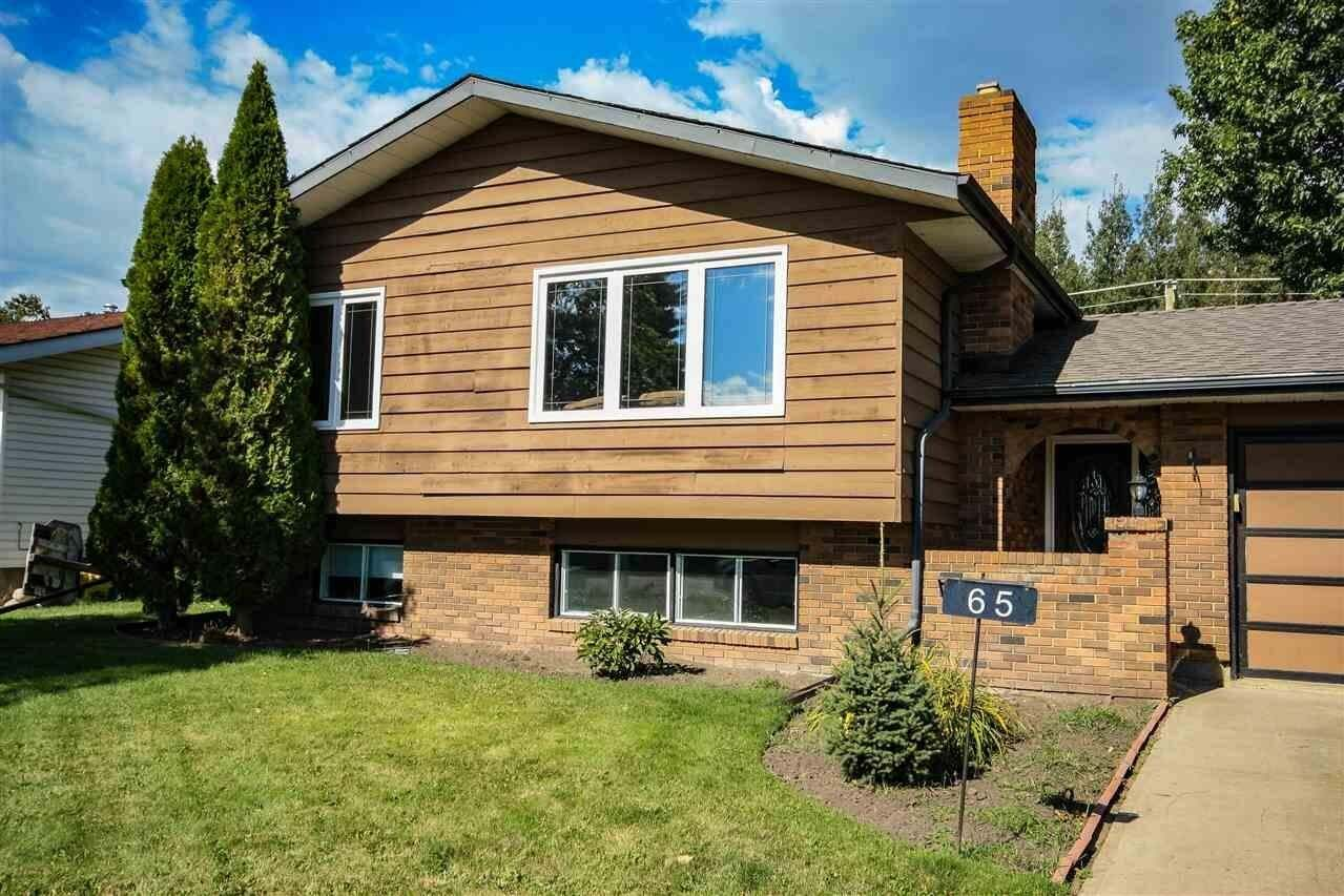 House for sale at 65 Umbach Rd Stony Plain Alberta - MLS: E4214300