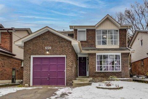 House for sale at 650 Percival Ct Oshawa Ontario - MLS: E5077728