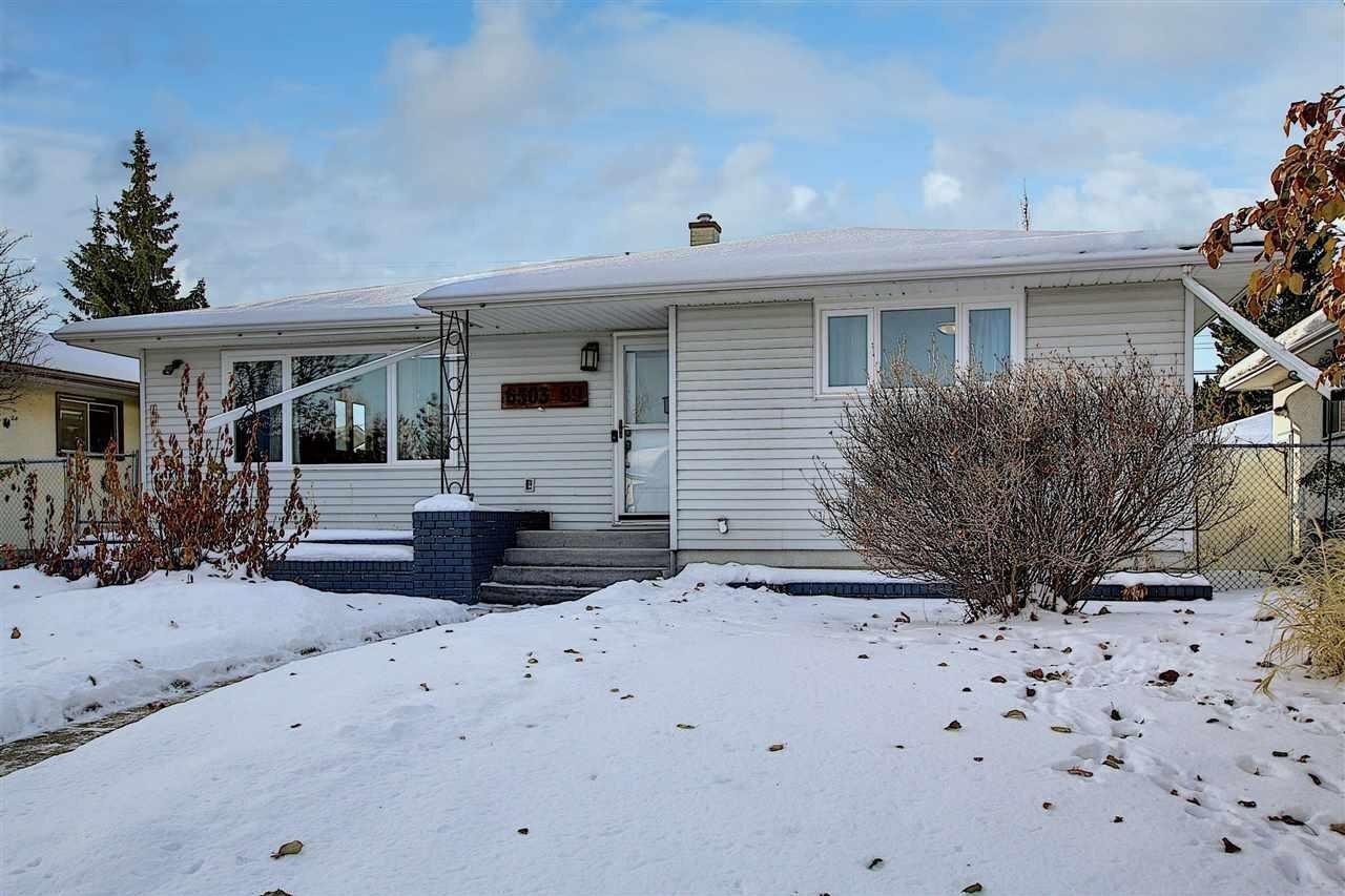 House for sale at 6503 89 Av NW Edmonton Alberta - MLS: E4222175