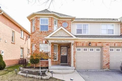 Townhouse for sale at 651 Hamilton Cres Milton Ontario - MLS: W4724077