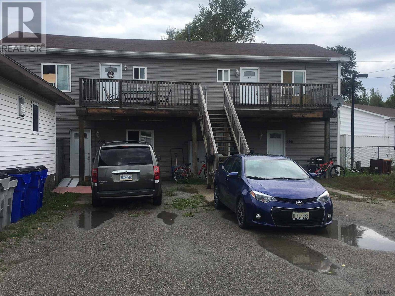 Townhouse for sale at 652 Park Ave Timmins Ontario - MLS: TM192408