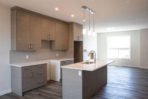 Townhouse for sale at 6520 Chappelle Vista Sw Edmonton Alberta - MLS: E4163024