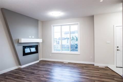 Townhouse for sale at 6528 Chappelle Vista Sw Edmonton Alberta - MLS: E4161115
