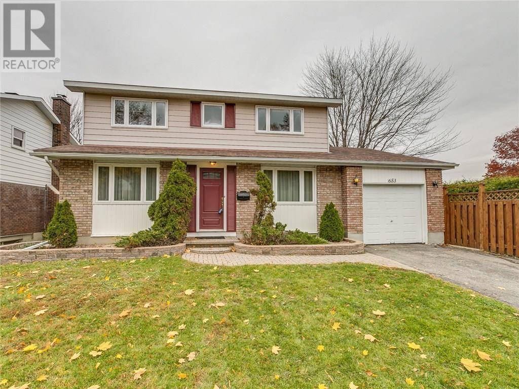 House for sale at 653 Laverendrye Dr Ottawa Ontario - MLS: 1174043