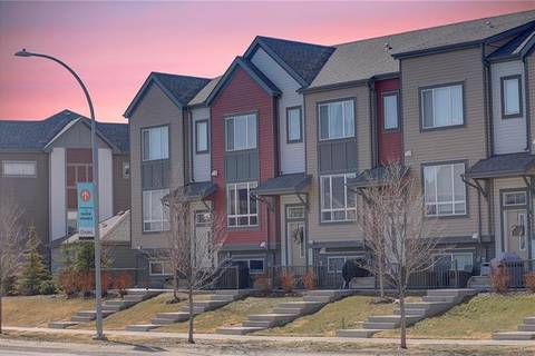 Townhouse for sale at 654 Copperpond Blvd Southeast Calgary Alberta - MLS: C4248710
