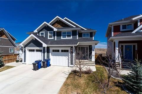 Townhouse for sale at 654 River Heights Cres Cochrane Alberta - MLS: C4295407